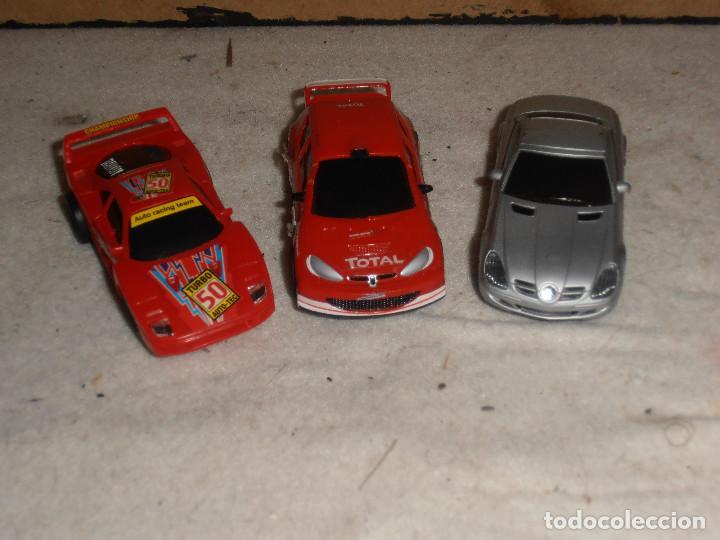 3 - COCHES SCALEXTRIC CARRERA GO (Juguetes - Slot Cars - Magic Cars y Otros)
