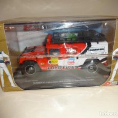 Slot Cars: POWER SLOT. HUMMER H1. LISBOA-DAKAR 2006. TEAM ROBBY GORDON. Lote 194913955