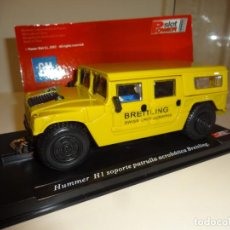Slot Cars: POWER SLOT. HUMMER H1. PATRULLA BREITLING. Lote 194914170