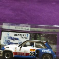 Slot Cars: RENAULT 5 TURBO TEAM SLOT. Lote 195034172