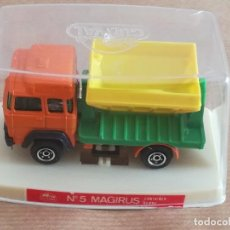Slot Cars: VEHÍCULO GUISVAL Nº 5 MAGIRUS CONTAINER. Lote 195046786