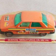 Slot Cars: VEHÍCULO GUISVAL MINIATURAS EN METAL. Lote 195047135