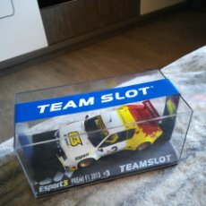 Slot Cars: RENAULT ALPINE A310 V6 TV3 2013 SCALEXTRIC TEAM SLOT. Lote 195083351