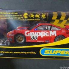 Slot Cars: PORCHE GT3R SUPERSLOT PRECINTADOS. Lote 195097872