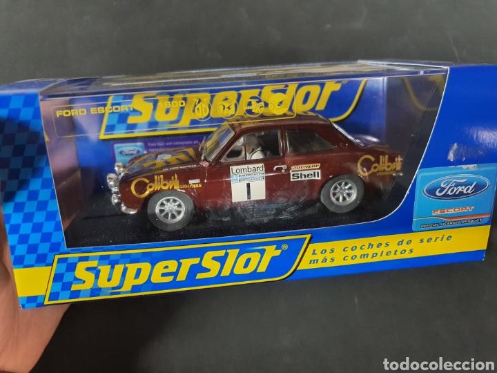 FORD SCORT MK2 SUPERSLOT PRECINTADOS (Juguetes - Slot Cars - Magic Cars y Otros)