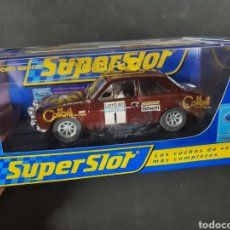 Slot Cars: FORD SCORT MK2 SUPERSLOT PRECINTADOS. Lote 195098092