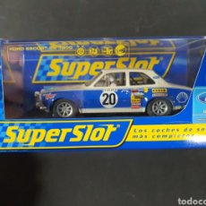 Slot Cars: FORD SCORT MK2 SUPERSLOT PRECINTADOS. Lote 195098105
