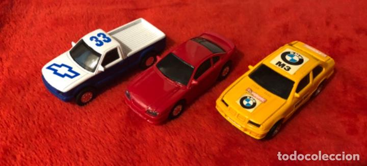 LOTE DE 3 COCHES SLOT ESCALA HO (Juguetes - Slot Cars - Magic Cars y Otros)