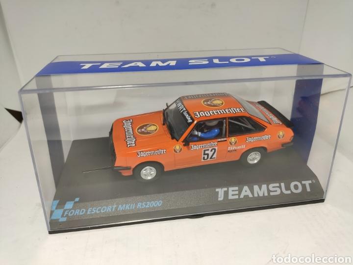 TEAM SLOT FORD ESCORT MKII RS2000 AUESBERG 81 REF. 12704 (Juguetes - Slot Cars - Magic Cars y Otros)