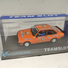 Slot Cars: TEAM SLOT FORD ESCORT MKII RS2000 AUESBERG 81 REF. 12704. Lote 208908111