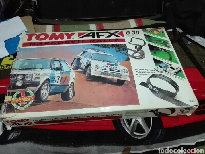 -PISTA TOMY AFX DAREDEVIL RALLY -SOLO LAS PISTAS (Juguetes - Slot Cars - Magic Cars y Otros)