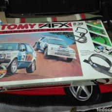 Slot Cars: -PISTA TOMY AFX DAREDEVIL RALLY -SOLO LAS PISTAS. Lote 196212993