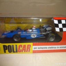 Slot Cars: POLICAR. MARCH 701. 1º JARAMA 1970. JACKIE STEWART. REF. CAR04B. Lote 196653930