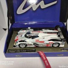 Slot Cars: LE MANS MINIATURES AUDI R18 E-TRON QUATTRO N°2 WINNER LE MANS 2013 REF. 132063/2M. Lote 196723363