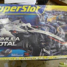 Slot Cars: CIRCUITO SUPERSLOT FORMULA TOTAL. Lote 197241377