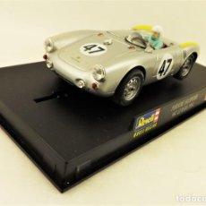Slot Cars: SLOT REVELL PORSCHE 550 SPYDER. Lote 197427003