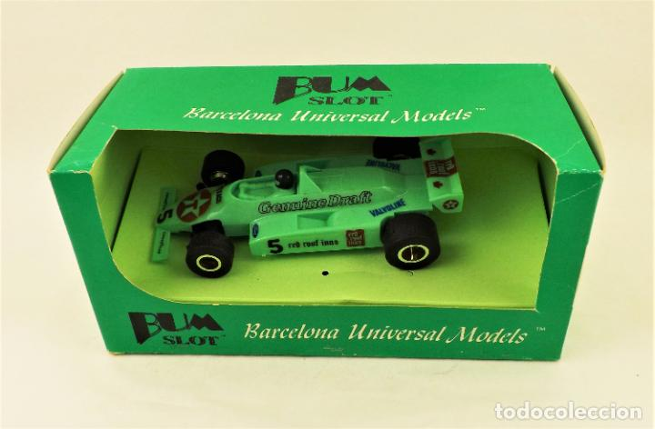 BUM SLOT FORMULA 1 TEXACO (Juguetes - Slot Cars - Magic Cars y Otros)