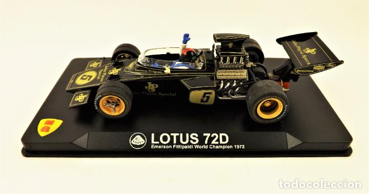 Slot Cars: MG Vanquish slot Lotus 72 D Emerson Fittipaldi 1972 - Foto 3 - 197563055