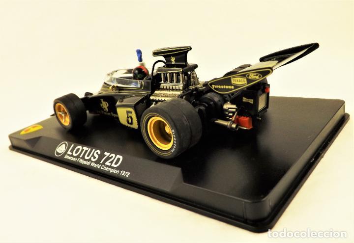 Slot Cars: MG Vanquish slot Lotus 72 D Emerson Fittipaldi 1972 - Foto 4 - 197563055