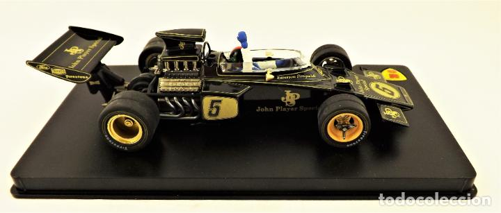Slot Cars: MG Vanquish slot Lotus 72 D Emerson Fittipaldi 1972 - Foto 5 - 197563055