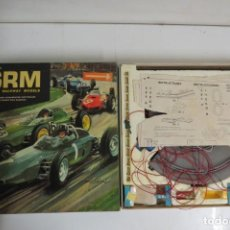 Slot Cars: ANTIGUO JUEGO PISTA CARRERAS SRM SCALE RACEWAY MODELS - MADE ENGLAND. Lote 197591008
