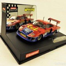 Slot Cars: SLOT CARRERA EVOLUTION PORSCHE 935/78 MOBY DICK POCONO 1983. Lote 197768230