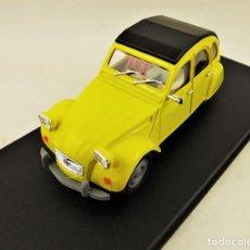 Slot Cars: PINK-KAR SLOT. CITROËN 2CV 1974. Lote 197918180