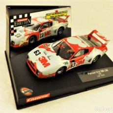 Slot Cars: CARRERA EVOLUTION FERRARI 512 BB 3M. Lote 197954413