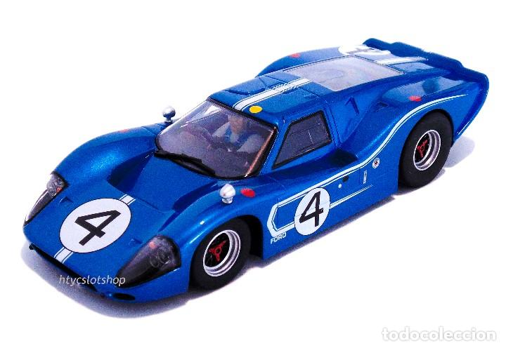 Slot Cars: SUPERSLOT FORD GT MKIV #4 24 HS LE MANS 1967 HULME / RUBY SCALEXTRIC H4031 - Foto 2 - 141845422