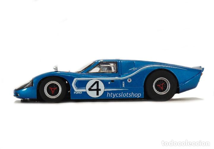 Slot Cars: SUPERSLOT FORD GT MKIV #4 24 HS LE MANS 1967 HULME / RUBY SCALEXTRIC H4031 - Foto 6 - 141845422