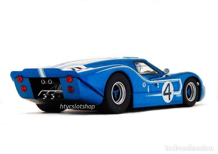Slot Cars: SUPERSLOT FORD GT MKIV #4 24 HS LE MANS 1967 HULME / RUBY SCALEXTRIC H4031 - Foto 7 - 141845422