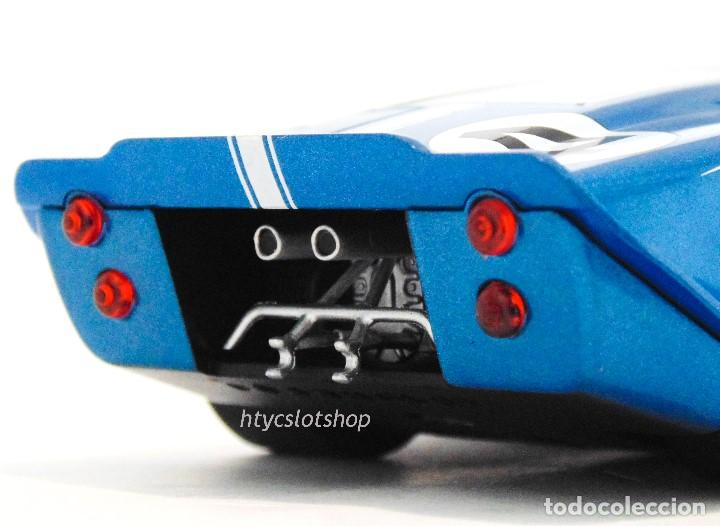 Slot Cars: SUPERSLOT FORD GT MKIV #4 24 HS LE MANS 1967 HULME / RUBY SCALEXTRIC H4031 - Foto 10 - 141845422