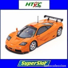 Slot Cars: SUPERSLOT MCLAREN F1 GTR PAPAYA ORANGE SCALEXTRIC UK H4012. Lote 214371005