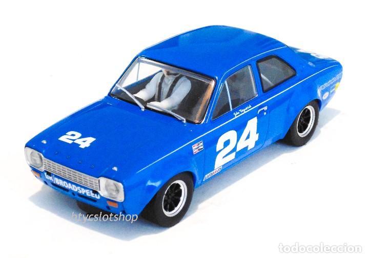Slot Cars: SUPERSLOT FORD ESCORT MKI #24 DAYTONA 1972 JOHN FITZPATRICK SCALEXTRIC H4085 - Foto 2 - 175453464