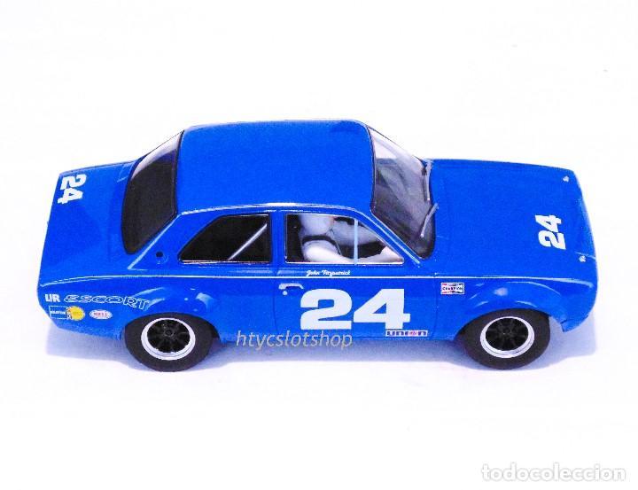 Slot Cars: SUPERSLOT FORD ESCORT MKI #24 DAYTONA 1972 JOHN FITZPATRICK SCALEXTRIC H4085 - Foto 3 - 175453464