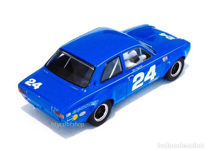 Slot Cars: SUPERSLOT FORD ESCORT MKI #24 DAYTONA 1972 JOHN FITZPATRICK SCALEXTRIC H4085 - Foto 4 - 175453464