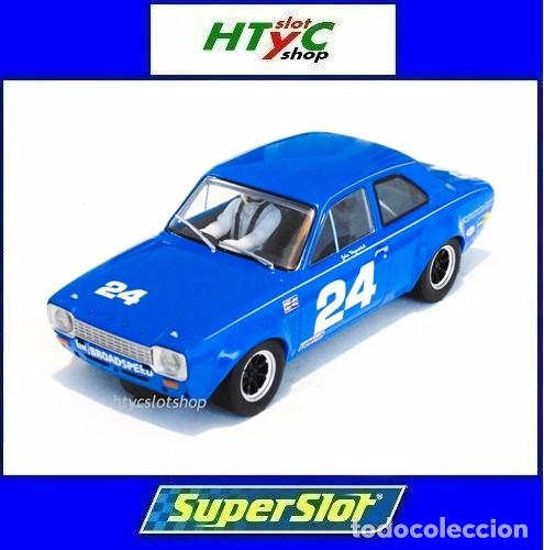 SUPERSLOT FORD ESCORT MKI #24 DAYTONA 1972 JOHN FITZPATRICK SCALEXTRIC H4085 (Juguetes - Slot Cars - Magic Cars y Otros)