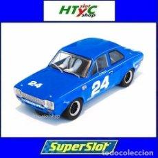 Slot Cars: SUPERSLOT FORD ESCORT MKI #24 DAYTONA 1972 JOHN FITZPATRICK SCALEXTRIC H4085. Lote 175453464