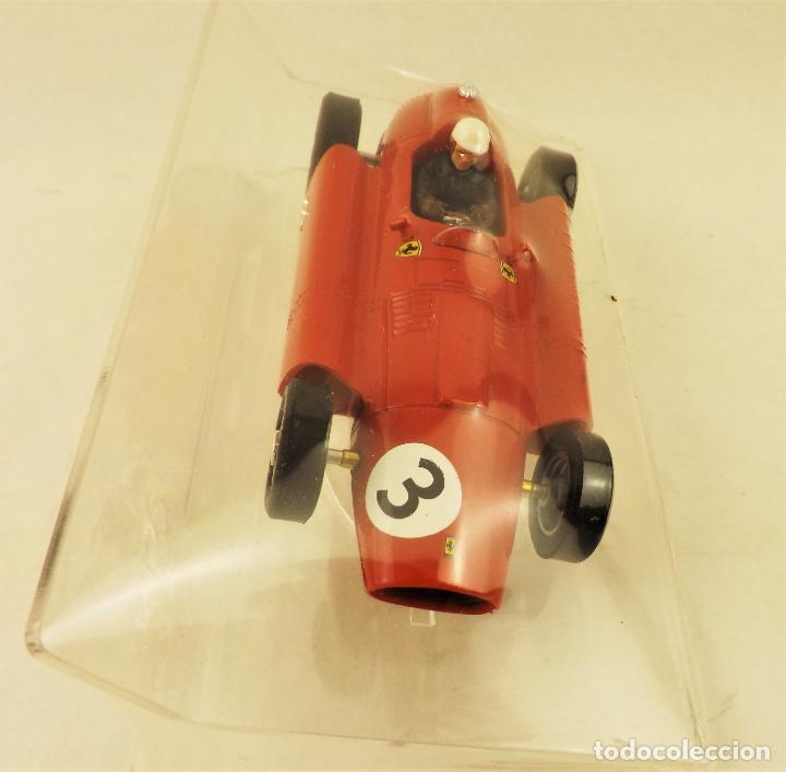 Slot Cars: Slot Cartrix Lancia Ferrari D50 Ed Especial Highway to Elx III + Peana expositora - Foto 3 - 198229842