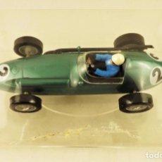 Slot Cars: SLOT CARTRIX ASTON MARTIN ROY SALVADORY Nº2 + PEANA EXPOSITORA. Lote 198231050