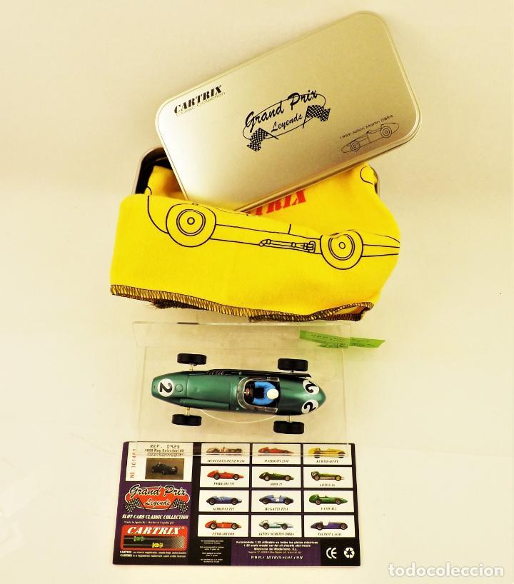 Slot Cars: Cartrix Grand Prix Legends. Aston Martin DBR4 Roy Salvadori 1959 - Foto 5 - 198317396