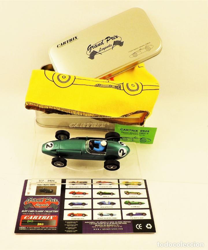 CARTRIX GRAND PRIX LEGENDS. ASTON MARTIN DBR4 ROY SALVADORI 1959 (Juguetes - Slot Cars - Magic Cars y Otros)