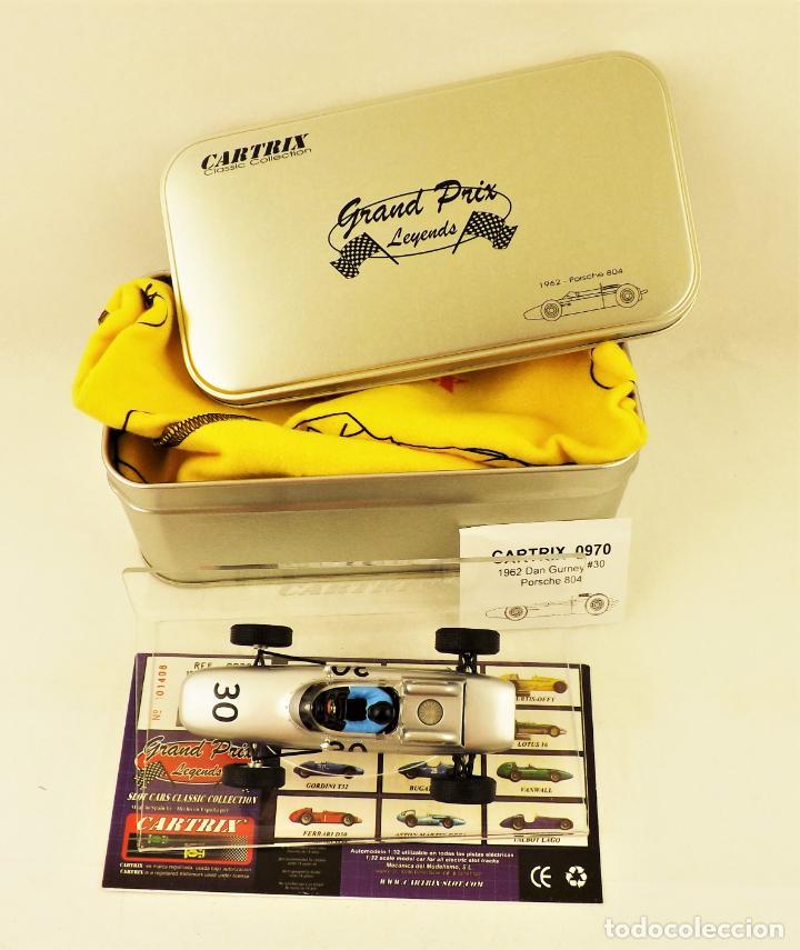 Slot Cars: Cartrix Grand Prix Legends. Porsche 804 1952 Dan Gurney - Foto 5 - 198317625