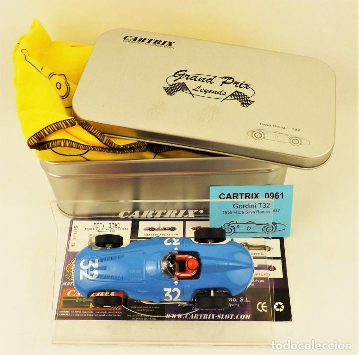 Slot Cars: Cartrix Grand Prix Legends. Gordini T32 Da Silva Ramos - Foto 5 - 198317886
