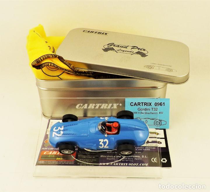 CARTRIX GRAND PRIX LEGENDS. GORDINI T32 DA SILVA RAMOS (Juguetes - Slot Cars - Magic Cars y Otros)