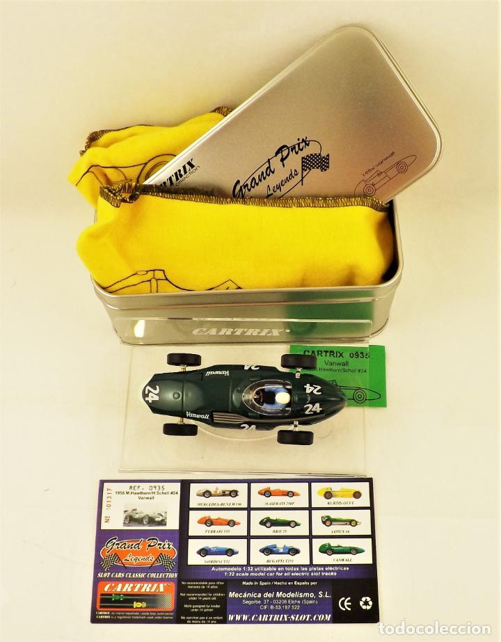 Slot Cars: Cartrix Grand Prix Legends. Vanwall Hawthorn/Schell 1956 - Foto 5 - 198340638