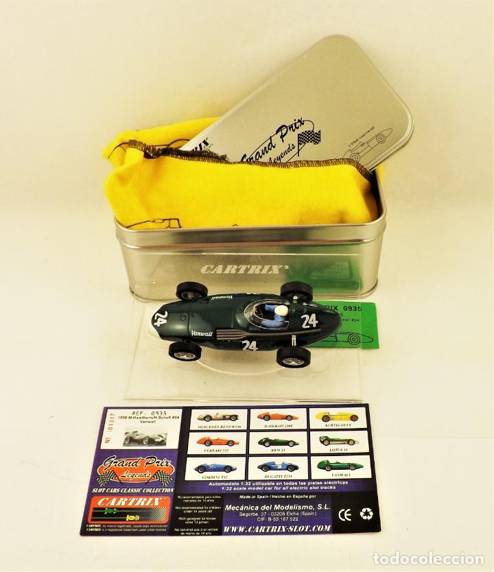 CARTRIX GRAND PRIX LEGENDS. VANWALL HAWTHORN/SCHELL 1956 (Juguetes - Slot Cars - Magic Cars y Otros)