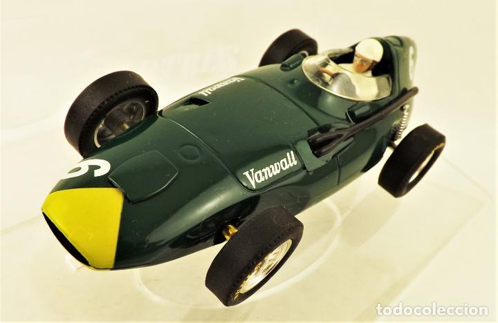 Slot Cars: Cartrix Grand Prix Legends. Vanwall Lewis/ Evans 1958 - Foto 2 - 198340898