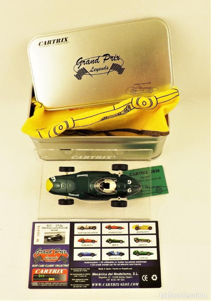 Slot Cars: Cartrix Grand Prix Legends. Vanwall Lewis/ Evans 1958 - Foto 5 - 198340898