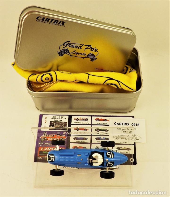 Slot Cars: Cartrix Grand Prix Legends. Talbot Lago - Louis Rosier 1950 - Foto 5 - 198341225